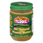 Teddie Old Fashioned Chunky Peanut Butter