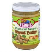 Teddie All Natural Organic Smooth Peanut Butter