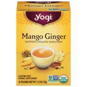 Yogi Organic Mango Ginger Tea Bags