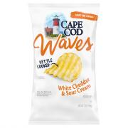 Cape Cod Potato Chips Waves White Cheddar & Sour Cream