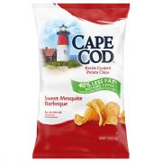 Cape Cod Potato Chips Low Fat Sweet Mesquite Barbecue