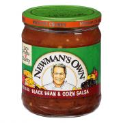 Newman's Own Black Bean & Corn Salsa