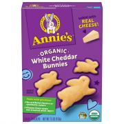 Annie's Homegrown White Cheddar Bunnies Snack Crackers