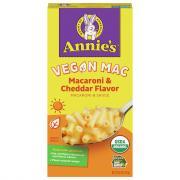 Annie's Organic Vegan Macaroni Cheese