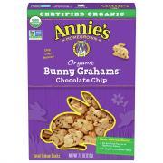 Annie's Homegrown Organic Chocolate Chip Bunny Graham Snacks
