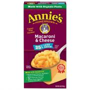 Annie's Homegrown Macaroni & Cheese 25% Less Sodium