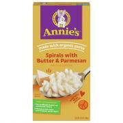 Annie's Spirals with Butter & Parmesan