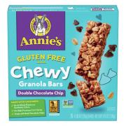 Annie's Double Chocolate Chip Granola Bars
