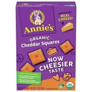 Annie's Homegrown Cheddar Square Snack Crackers