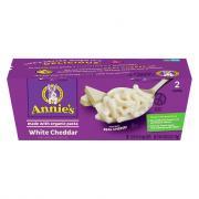 Annie's White Cheddar Macaroni & Cheese 2 Pack Cups