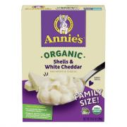 Annie's Organic Homegrown Shells & Wisconsin Cheddar