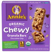 Annie's Organic Chocolate Chip Chewy Granola Bars