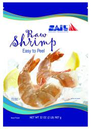 13/15 Raw EZ Peel Shrimp