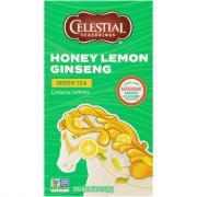 Celestial Seasonings Honey Lemon Ginseng Green Tea Bags