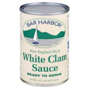 Bar Harbor White Clam Sauce