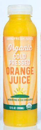 Morning Kiss Organics Orange Juice