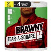 Brawny Tear-A-Square Paper Towels