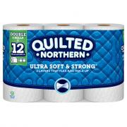Quilted Northern Ultra Soft & Strong Double Roll Bath Tissue