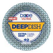Dixie Ultra Deep Dish Plates