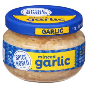 Spice World Minced Garlic