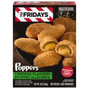 TGI Fridays Cheddar Cheese Stuffed Jalapeno Poppers