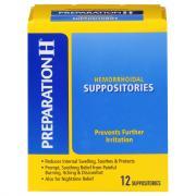 Preparation H Suppositories