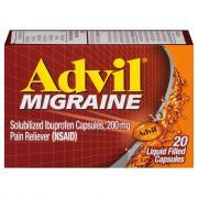 Advil Migraine Liquid Filled Capsules