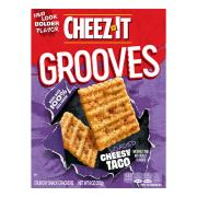Cheez-It Grooves Crispy Cracker Chips Taco