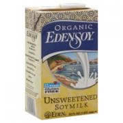 Edensoy Organic Unsweetened Soymilk
