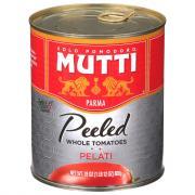 Mutti Whole Peeled Tomatoes