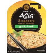 Simply Asia Singapore Garlic Basil Noodles