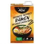 Simply Asia Japanese Inspired Soy Ginger Chicken Broth