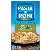 Pasta Roni Rustic Recipes Olive Oil & Italian Herb