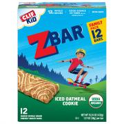 Clif Kid Organic ZBar Iced Oatmeal Cookie