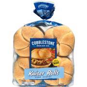 Cobblestone Bread Company Corn Dusted Kaiser Rolls