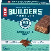Clif Builder's Chocolate Mint Bars