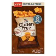 Lance Gluten Free Cheddar Crackers Multi Pack