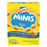 Lance Minis Peanut Butter Toasty Sandwich Crackers