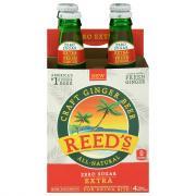 Reed's Zero Sugar Extra Craft Ginger Beer