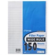 Filler Paper Wide Rule
