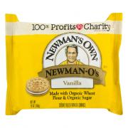 Newman-O's Creme Filled Cookies - Vanilla