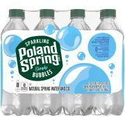 Poland Spring Sparkling Simply Bubbles Water