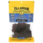Tillamook Country Smoker Beef Jerky Sea Salt & Pepper