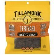 Tillamook Country Smoker Beef Jerky Teriyaki