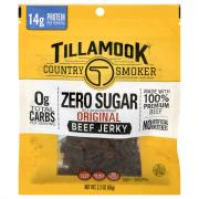Tillamook Country Smoker Zero Sugar Original Beef Jerky