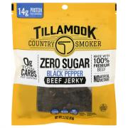 Tillamook Country Smoker Zero Sugar Black Pepper Beef Jerky