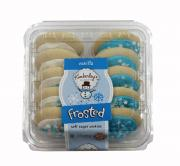 Kimberly's Bakery Winter Frosted Sugar Cookies