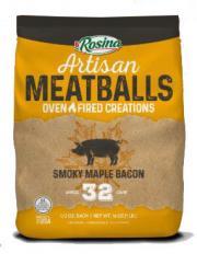 Rosina Smoky Maple Bacon Meatballs