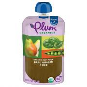 Plum Organics Spinach, Peas & Pear Baby Food
