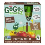 GoGo SqueeZ Apple Cinnamon Applesauce On the Go